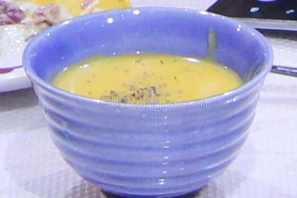 马铃薯南瓜浓汤的做法
