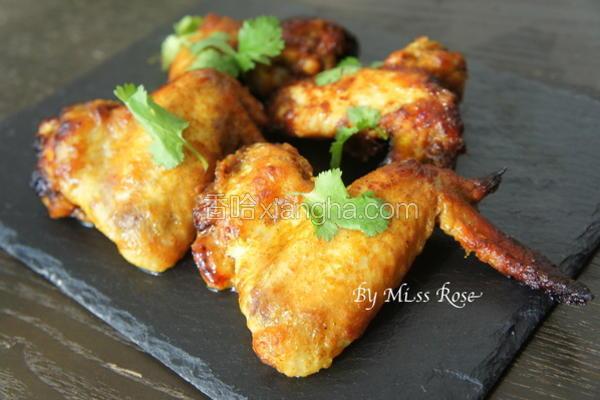 蜂蜜香料烤鸡翅