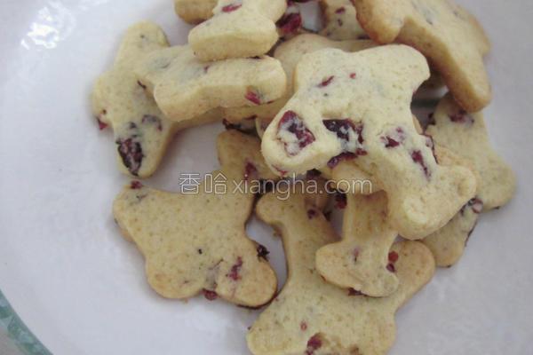蔓越莓飞机饼干的做法