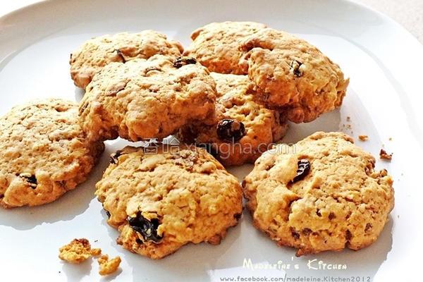 综合谷麦饼干的做法