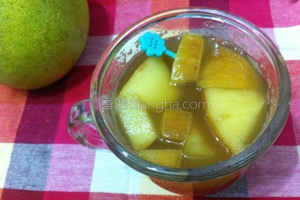 柚香苹果茶的做法