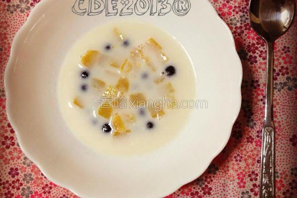 南瓜椰奶QQ的做法