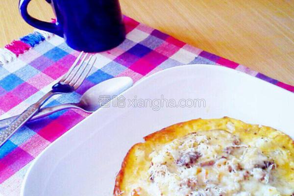 香菇洋葱蛋的做法