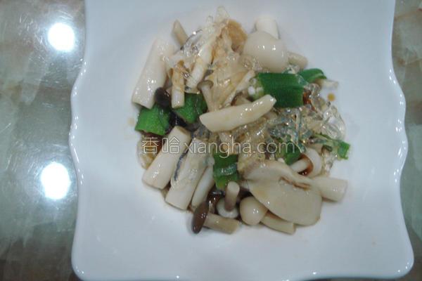 日式寒天菇菇沙拉的做法