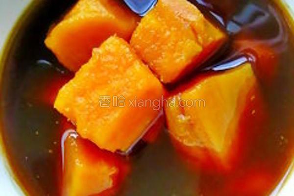 黑糖姜地瓜的做法