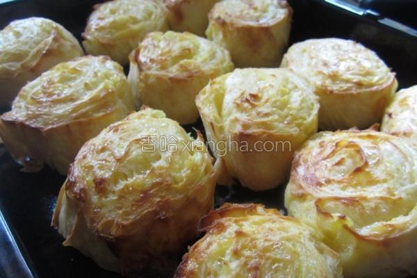 马铃薯奶酪千层派的做法
