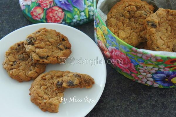 燕麦葡萄饼干的做法