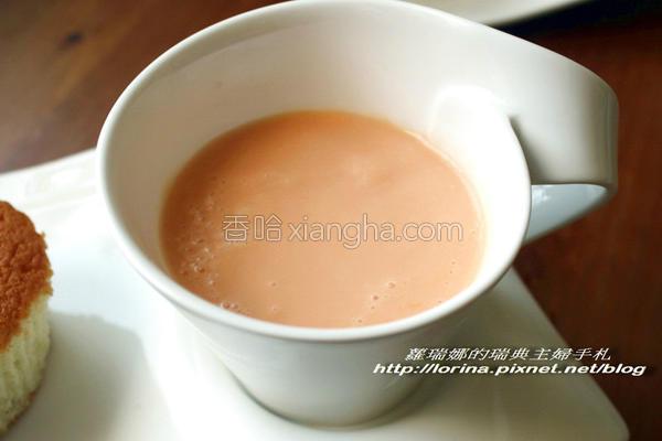 香浓木瓜牛奶的做法