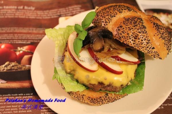 美式汉堡的做法