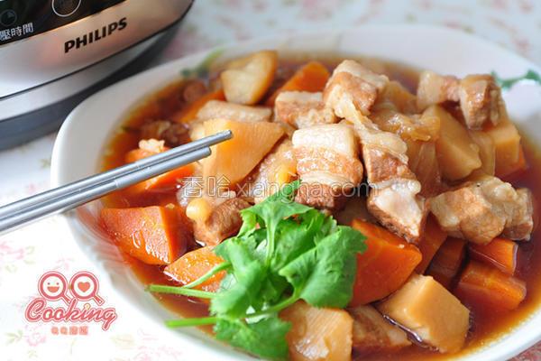 超市马铃薯炖肉锅的做法