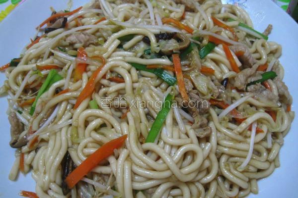 炒米苔目的做法