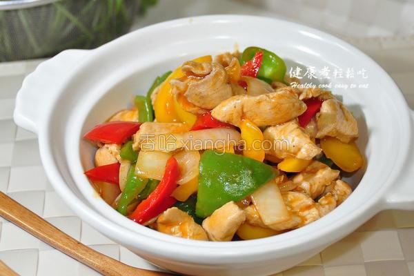 茄酱烩鸡肉的做法