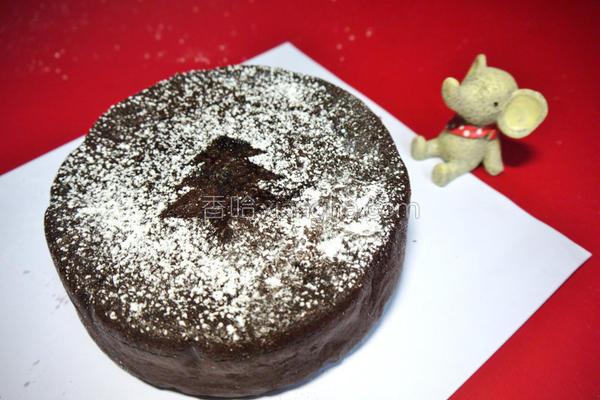 厚浓巧克力蛋糕的做法