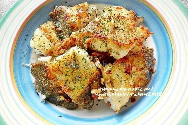 奶油香蒜鳕鱼的做法