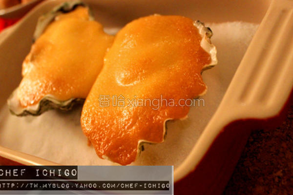 日式焗生蚝的做法