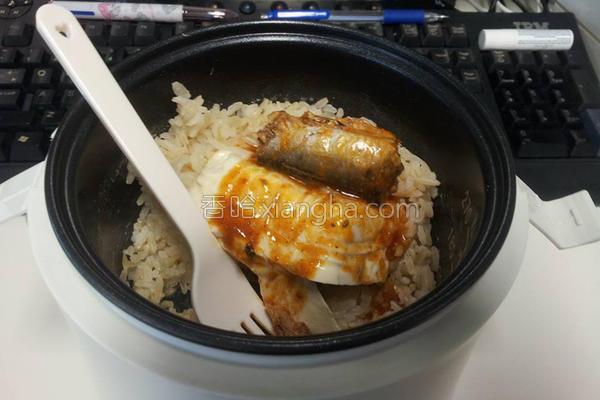 豆腐辣鱼饭的做法