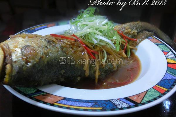 红烧黄鱼的做法