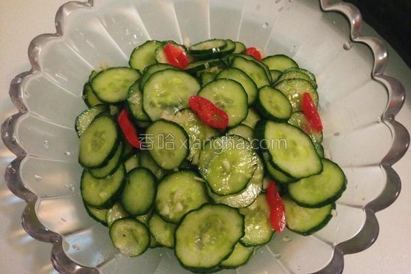 腌小黄瓜的做法