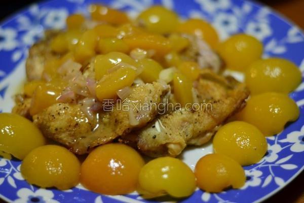 杏桃柠檬鸡的做法