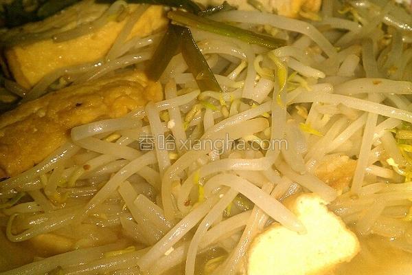 豆干炒银芽的做法
