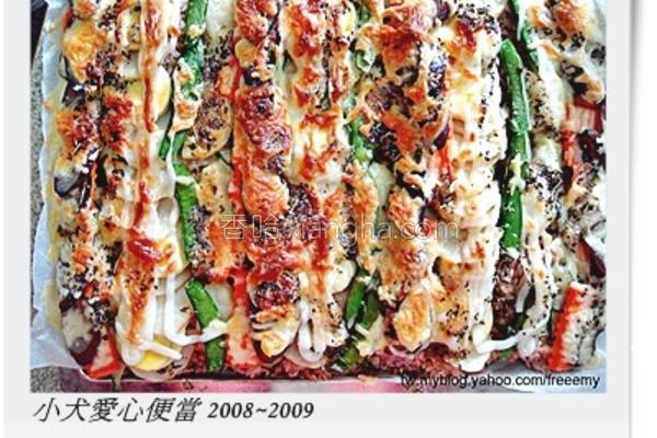 野菜焗饭的做法