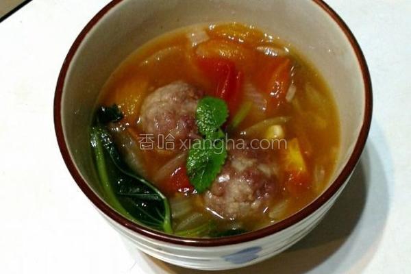番茄马铃薯汤的做法