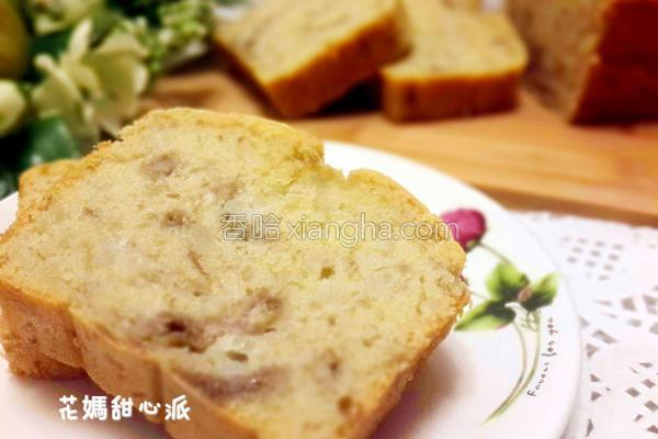香蕉米蛋糕的做法