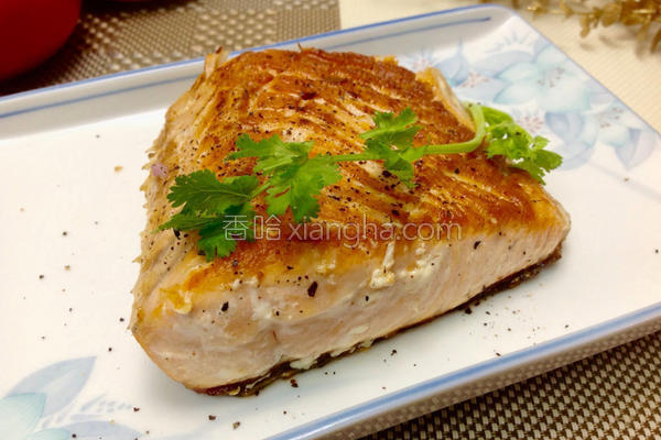 七味粉鲑鱼排的做法