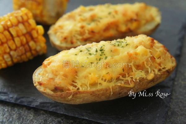 焗烤起司马铃薯盅的做法