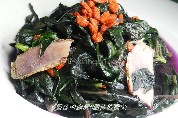 姜片红凤菜的做法