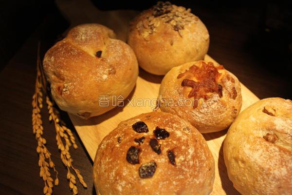 味蕾周记乡村面包的做法