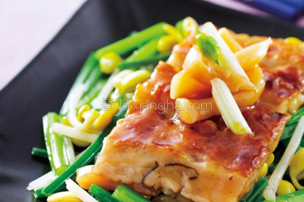 黄豆芽陈脯煎鱼的做法