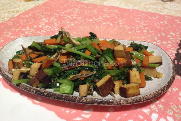 新鲜雪四季豆干煮的做法