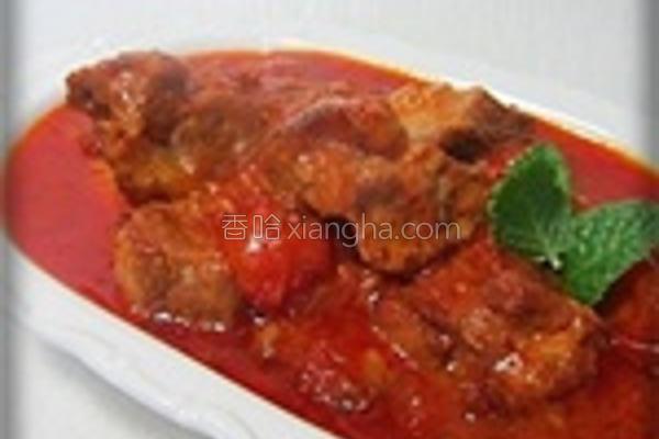 番茄起司炖肉的做法