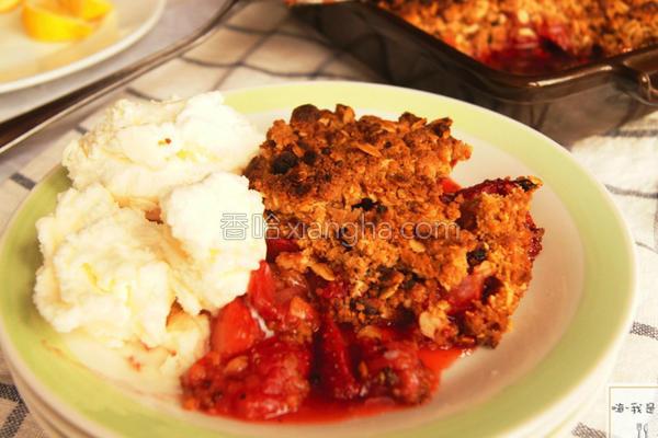 酥烤草莓派的做法
