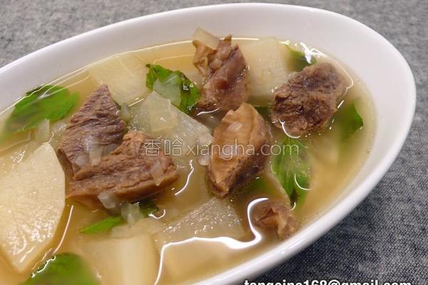 越式牛肉汤的做法