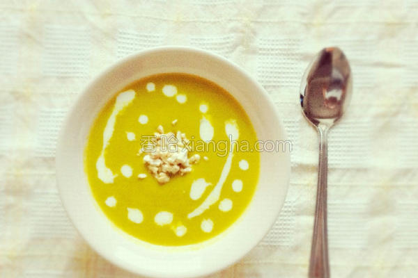 简易南瓜浓汤的做法
