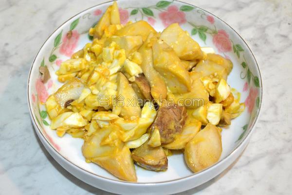 黄金杏鲍菇的做法