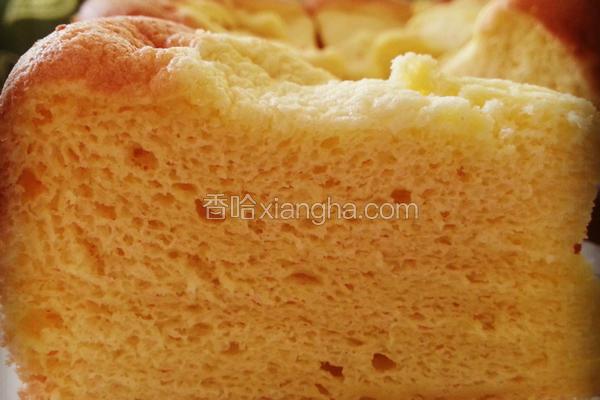 焖烤榴梿戚风蛋糕