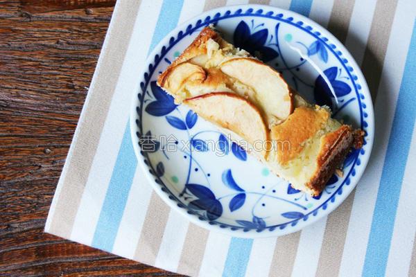 德式苹果温蛋糕的做法