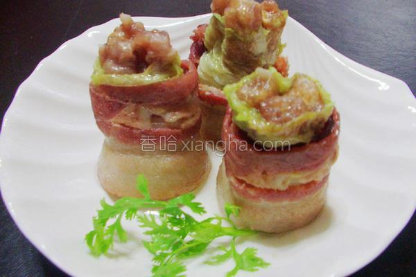燕饺白菜培根卷的做法