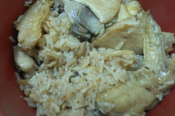 麻油鸡饭的做法