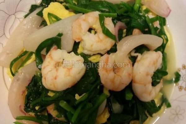 海鲜鸡蛋炒韭菜的做法
