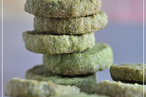 绿茶燕麦酥饼的做法