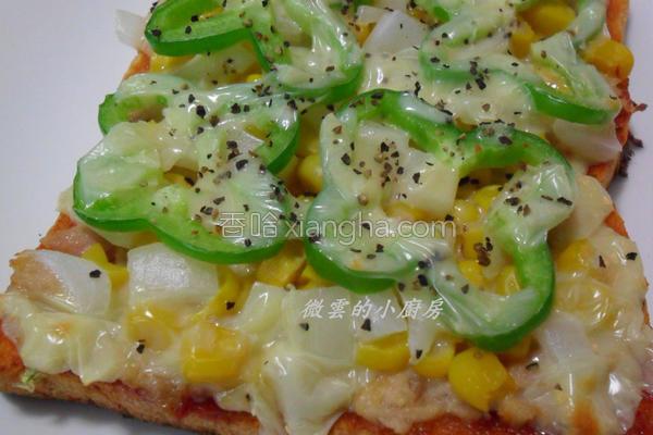 10分钟披萨的做法