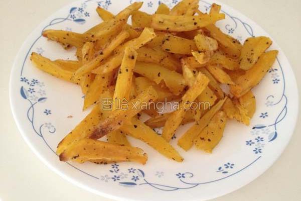 免油锅地瓜薯条的做法