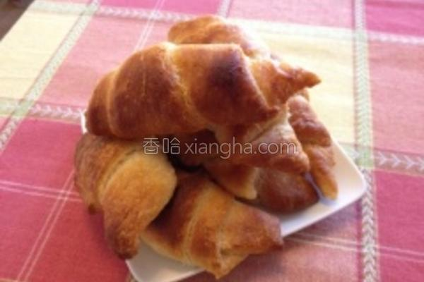 法式牛角面包的做法