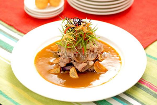 蒜香咖哩肉片的做法