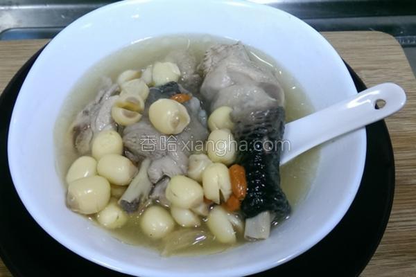 莲子鸡汤的做法