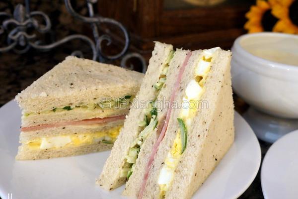 美而美超级三明治的做法
